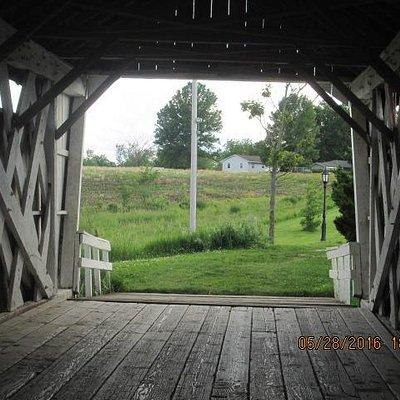 Imes Covered Bridge, interior