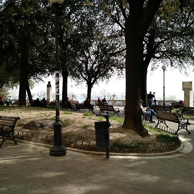 The small park of Giardini Carducci