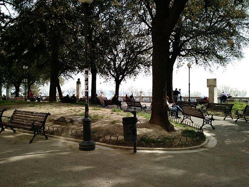 The small park of Giardini Carducci