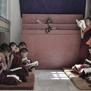 The classroom of Monks..