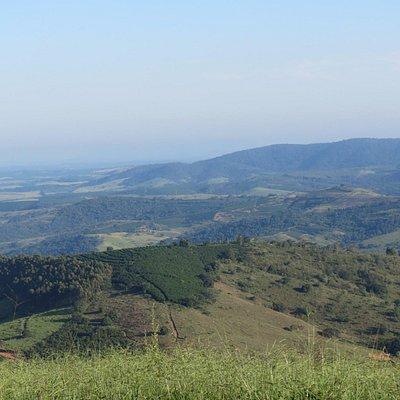 Vista da região obtida no Mirante