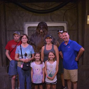 Chewbacca meets the family!
