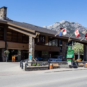 Street at the Banff Park Lodge Resort and Conference Centre