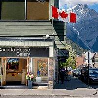 Beautiful Canadian art in beautiful Banff