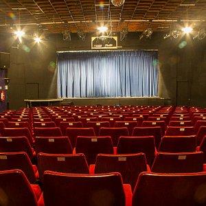 Our main 216-seater auditorium