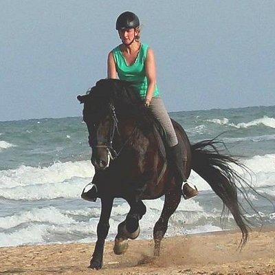 Strandreiten an der Costa Blanca