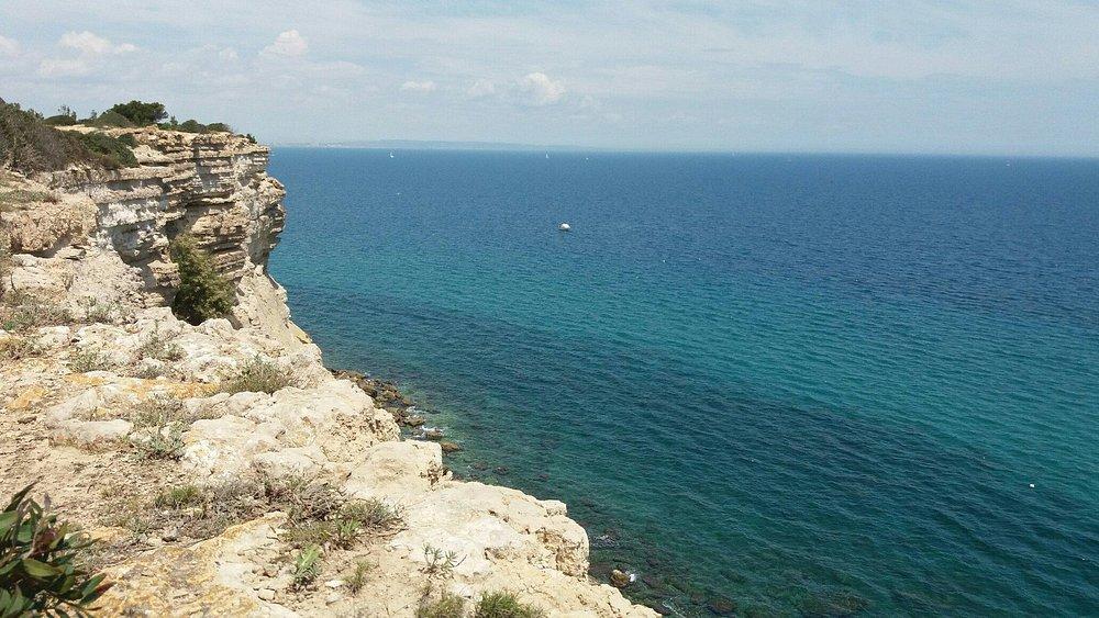 Magnifique journée de la falaise de lequate a la franqui 👍🌞