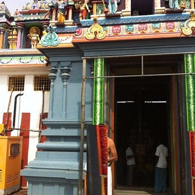 Temple with generator