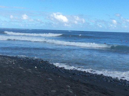 Playa y los arrecifes de coral