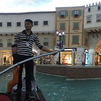our gondola man