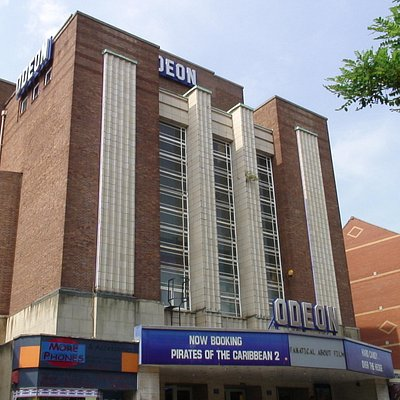 Odeon from its entrance on Sidwell Street.