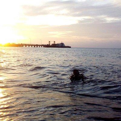 Pantai jangkar, Situbondo Jatim, Indonesia