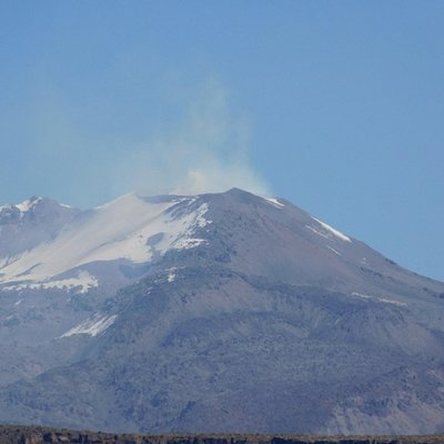 volcano from the mirador