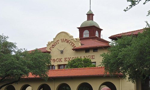 outside view of the Stockyard museum