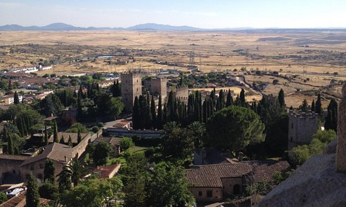 La vista desde el castillo