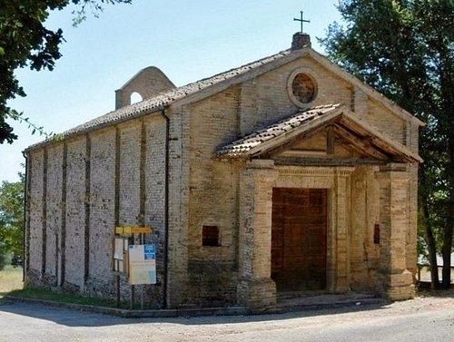 La piccola chiesa cinquecentesca