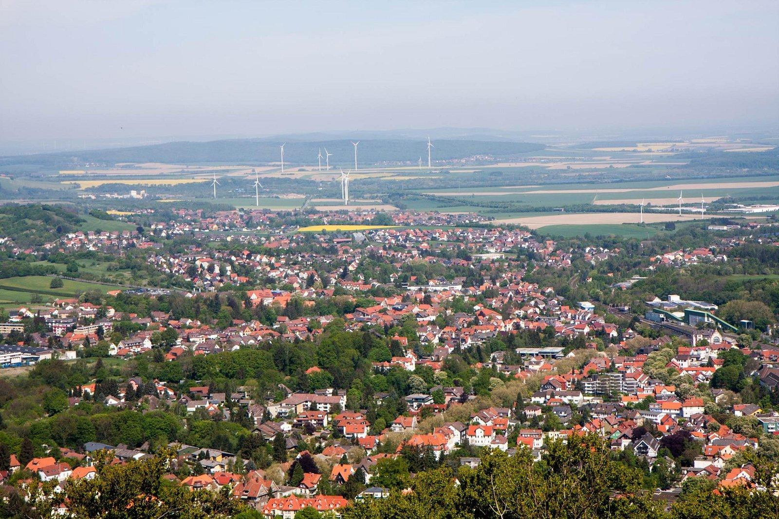 Blick über Harzburg