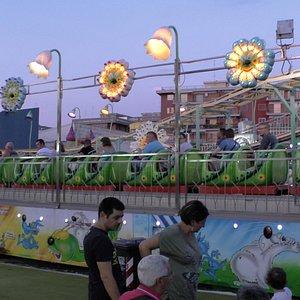 Bruco Sprint - children's roller coaster