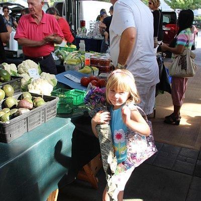 Fresh local fruits & veggies