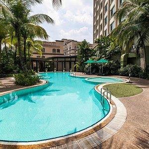 The Pool at the Eastin Hotel Kuala Lumpur
