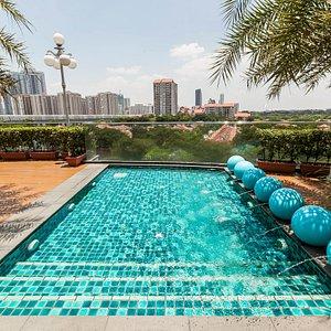 The Pool at The Royale Chulan Damansara