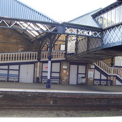 This is a photo of the station that I took when we were there