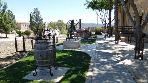 Copper Art Museum, Clarkdale, Arizona outdoor displays