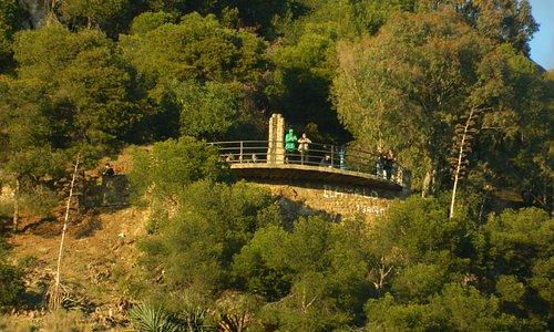 Vista del Mirador desde abajo