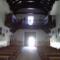 Vista del coro e ingreso