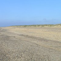 Denes Beach backed by dunes