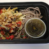 Soba noodles come in Mediterranean, Build Your Own Bowl, Thai and other varieties! All meals are