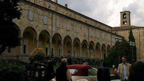 Ingresso al museo Mazzolini