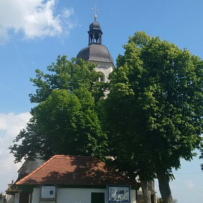 Wallfahrtskirche auf dem Bogenberg
