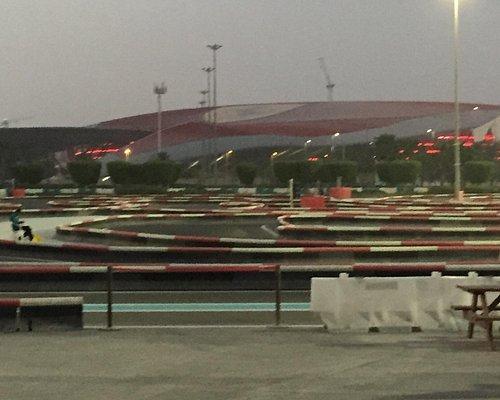 Yas kartzone at Yas Marina Circuit