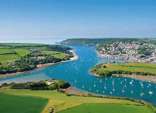 The beautiful Salcombe, South Devon
