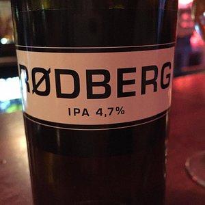 Great local Norwegian IPA found at Rekord Bar