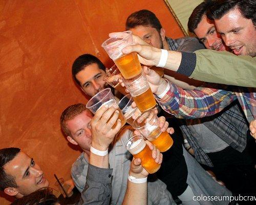 beer chugging