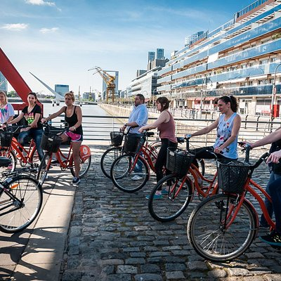 La bicicleta Naranja invites you to discover Buenos Aires in a different way ...