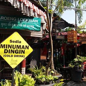 Waroeng Loekisan di kampung cyber