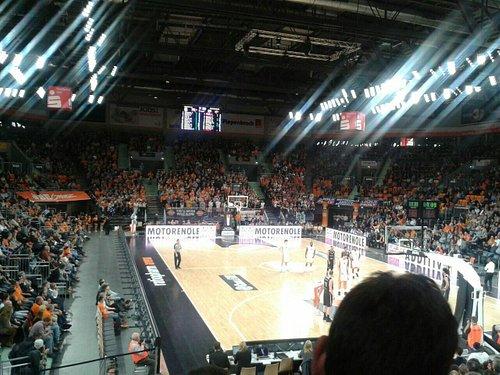 Basketball Bundesliga in der Arena Ratiopharm Ulm