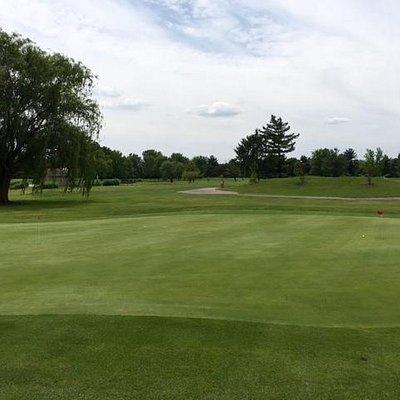 Sahm Golf Course's Practice Green