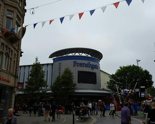 Frenchgate Shopping Centre.