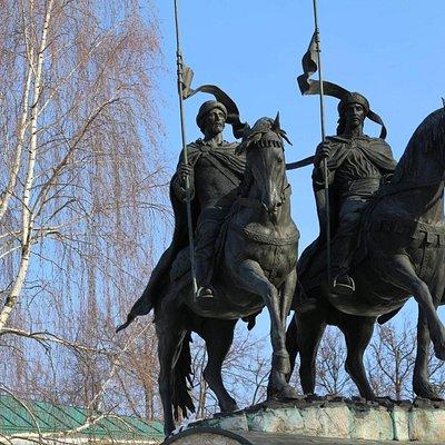 St. princes Boris and Gleb