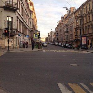 Моховая улица