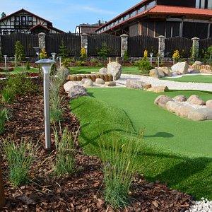 Minigolf w Adventure Golf Park w Łebie