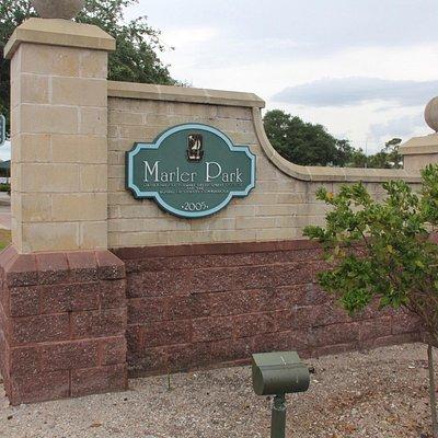 Ross Marler Park Main Entrance