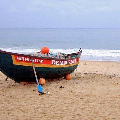Lumley Beach Boat