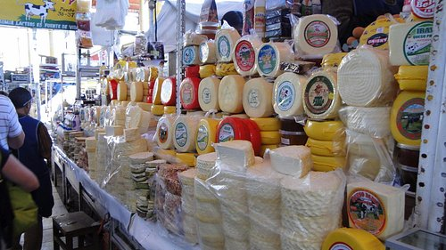 Des fromages aussi