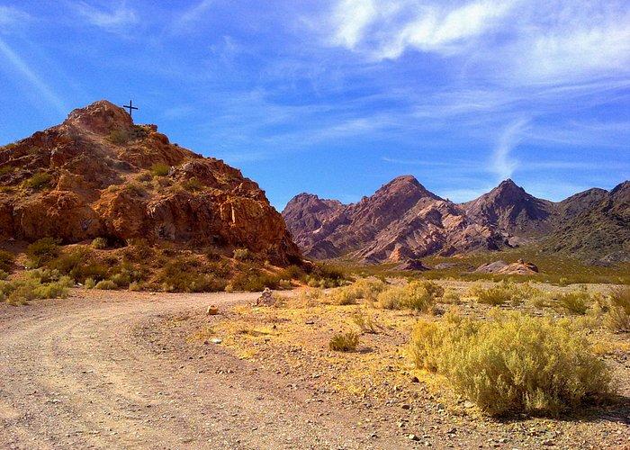 camino al cerro 7 colores de Uspallata