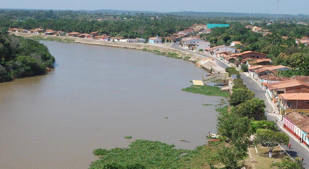 Bela vista do Rio Mearim!